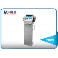 China Hotel Self Service Kiosk With Chip Card Reader Handset And Metal Keyboard wholesale