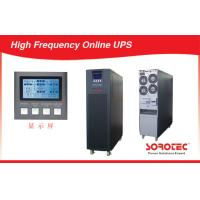 10-30KVA True Double-Conversion PF0.9  High Frequency On Line  UPS for Labs Manufactures