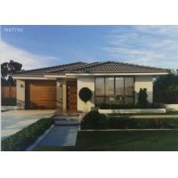 Custom Prefab Bungalow Homes / Modern Prefab Homes Fire Resistance With Laminate Floor Manufactures