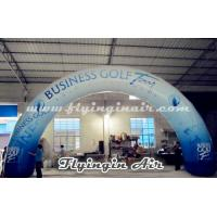 Standard Curved Inflatable Advertising Arch, Printing Inflatable Archway Manufactures