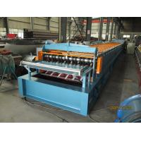 China Automatic Metal Deck Roll Forming Machine / Steel Deck Roll Former wholesale