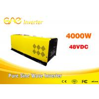 dc ac off grid solar inverter pure sine wave 48v to 220v 4000w home inverter for all kinds of appliances Manufactures