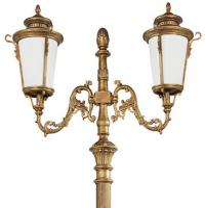 outdoor aluminum antique garden pole light decorative LED street light lamp /Landscape Light Pole CE glass iron Manufactures