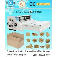 Quality Auto Paper Carton Making Machine Of Paper Feeding , Cardboard Box Making Machine for sale