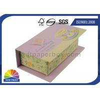 Customized Hinged Lid Printed Rigid Gift Box For Eyeliner Beauty Products Manufactures