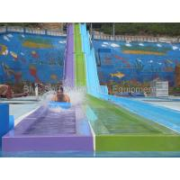 China Guangxi  30,000 Fiberglass  Water Slide / Wave Pool  / Family Water Playground Water Park Manufactures
