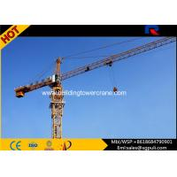 400m Rope Overhead Construction Building Tower Crane 1.0 Ton Tip Load Manufactures