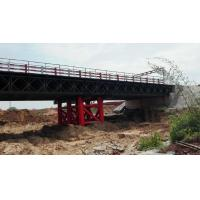 Buy cheap Double lane Bailey Bridge / Modular Steel Panel Bridge/ steel truss modular bridge from wholesalers