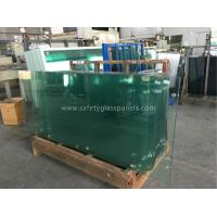 Custom Clear Tempered Safety Glass For Coffee Table / House Window Manufactures