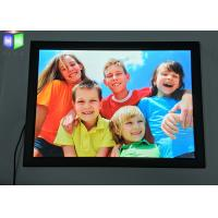 Thin Snap Frame Led Light Box Display With Photo Frame For Sign , Customized Shape Manufactures