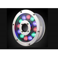 China 304 Stainless Steel LED Underwater Lamp RGB Waterproof 12w With Reasonable Structure on sale