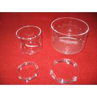 Buy cheap Transparent Quartz Crucible with Lid from wholesalers