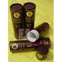8 Inch Cardboard Tube Packaging Cylindrical Glossy Lamination Printing Manufactures