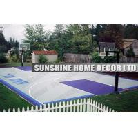 Polypropylene Basketball Court Interlocking Sports Flooring With Multi Purpose Manufactures