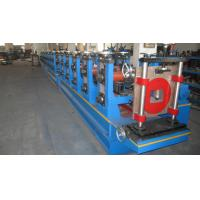 High Changing Speed Hydraulic Cold Roll Forming Machine For Storage Manufactures