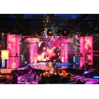 Indoor P4 full color  flexible led curtain display for Stage Energy Saving Manufactures