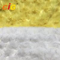 China Emboss 100% Polyester Faux Fur Fabric For Furniture Seat / Car Seat Cover wholesale