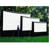 Customized 0.9 Mm PVC Tarpaulin Frame Inflatable Movie Screen Manufactures