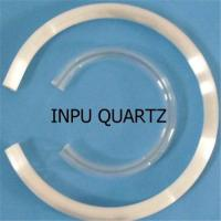 Sell C shape quartz glass tube Manufactures
