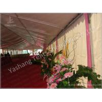 White Aluminum Structure Outdoor Party Tents 300 Sqm Amazing Wedding Marquees Manufactures
