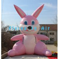 Custom 5m Printing Easter Inflatable Rabbit for Easter Decoration Manufactures