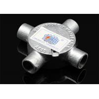 """China 3/4""""or 1""""  Channel Inspection Elbow Tee Circular malleable iron Junction Box For Rigid Conduit wholesale"""