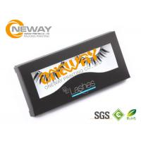 Eyelash Printing Wooden Cosmetic Packaging Boxes velvet Material Manufactures