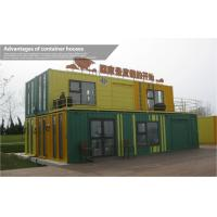Fancy Resort 40ft Prefab Shipping Container Homes with Double Story , Steel Structure Manufactures