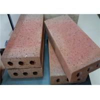 Turned Color Clay Baking Brick For Outside Road Thickness 30/40/50/60mm Manufactures