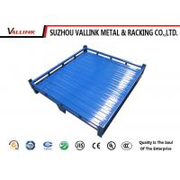 Buy cheap Industrial Steel Pallets Carbon Two Way Entry Heavy Duty Pallets With Sides from wholesalers