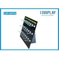 Promotional Custom Cardboard Counter Displays With Plastic Hook Manufactures