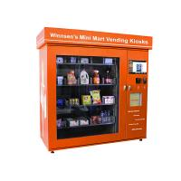Shopping Mall Smart Mini Mart Universal Vending Kiosk with 19 Inch Touch Screen Manufactures