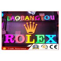 China Durable Multiple Shop Backlit LED Channel Letters For Outdoor Signs Waterproof on sale