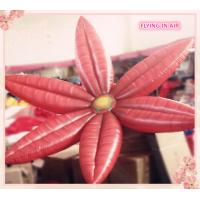 2m Oxford Red Hung Inflatable Flower for Stage And Wedding Decoration Manufactures