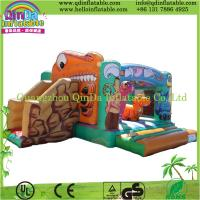 China Commercial Use Inflatable Park QinDa Giant Inflatable Bouncer on sale