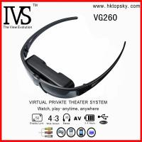 52inch virtual screen digital video eyewear glasses with AV input for iphone, ipod, game cube Manufactures