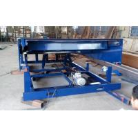 China 6m Movable pallet lift table 400mm lip length for loading bay / dock leveler / dock ramp on sale