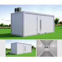 20FT PU Sandwich Panel Portable Container Cool Storage Room House Iso Standard Manufactures