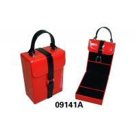 SquareTravel Square Faux Leather Jewelry Box With Ring Set Manufactures