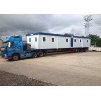 Folding And Movable Flat Packed Modified Container House / Portable Container Home For Camp Manufactures