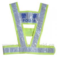 Promotion Colorful Traffic Belt Reflective Police Safety Vest Manufactures