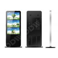 Interactive touchscreen 65 inch , 500cd / m2 multi touch kiosk 8ms Responsive Time DDW-AD6501SNT Manufactures