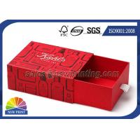 Customized Rigid Paper Drawer Box for Hair Treatments / Body Soap / Lip Balm Kit Manufactures