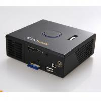 China LED mini micro projector life of 30, 000 hours with connectors for USB, Computer, DVD, AV  on sale