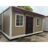 Buy cheap Lightweight Steel Structure Contemporary Prefab Homes Multi Storey For Residential from wholesalers