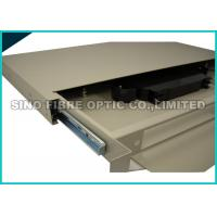 FC / PC 24 Port Fiber Patch Panel Rack Mount 70KPa - 106KPa Atmosphere Pressure Manufactures