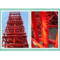 Customized 650mmx650mmx1508mm Painted Mast Section For Construction Hosit Manufactures