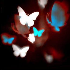Lightshow Multi Color Snow Flurry Snowflake LED Projection Light Christmas
