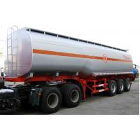 Heavy Duty  3 axles 40000L fuel tanker semi trailer With tool box Manufactures