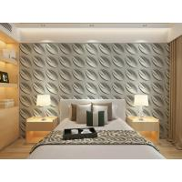 China Contemporary Interior 3D Textured Wall Panels Home or Commercial Decoration Wallpaper on sale